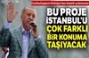 Türkiye Cumhurbaşkanı Recep Tayyip Erdoğan, Beyoğlu Camikebir'de Tersane İstanbul Temel Atma...