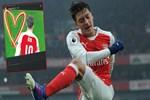 Mesut Özil'e Amine'den güzel destek