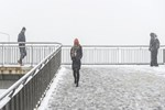 İDO ve BUDO seferlerine kar yağışı engeli