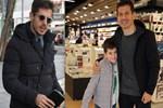 Sporcu babanın sporcu oğlu Ömer Akif