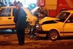 Alkollü sürücü arkadan çarptı!
