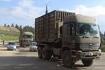Suriye sınırına askeri mühimmat