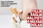 Sigara kullanımı ülkenin de ciğerlerini mahvediyor