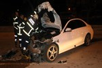 Lüks otomobiliyle yarış yapan sürücü dehşet saçtı!
