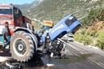 Kaş'ta feci trafik kazası: 1 yaralı
