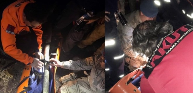 Muğla'da uçuruma düşen bir kişi öldü