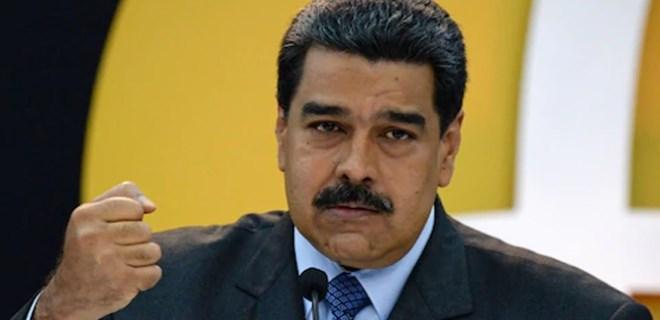 Maduro, ABD'ye karşı 10 milyon imza toplayacak