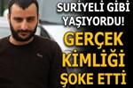 Gizlenmek için Suriyeli gibi yaşayan FETÖ'cü polisten kaçamadı