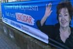 Güven Hokna'nın seçim sloganı dikkat çekti!