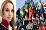 Palandöken Kayak Merkezi yıldız isimleri ağırladı