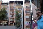Kocaeli'ndeki yamuk binalar hayrete düşürüyor!