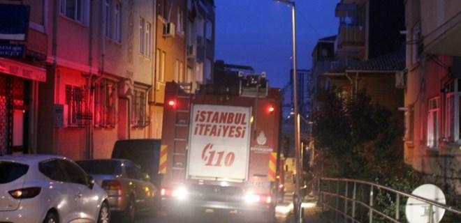 Beşiktaş'ta sabah saatlerinde korkutan yangın!