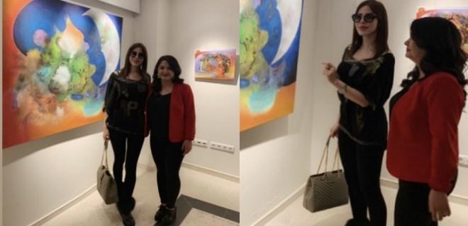Akdeniz Üniversitesi resim sergisine büyük ilgi