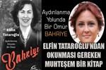 Elfin Tataroğlu'ndan okunması gereken bir kitap: 'Bahriye'