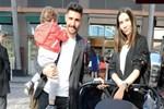 Özer Hurmacı milli arada ailesiyle İstanbul'da