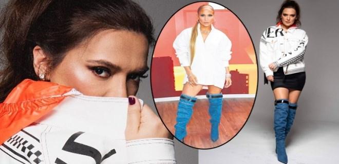Demet Akalın Jennifer Lopez'in izinde