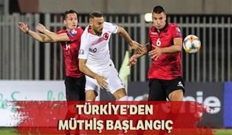 Şenol Güneş ve Türkiye'den müthiş başlangıç
