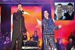 Alişan ve Demet Akalın halk konseri verdi