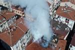 Güngören'de 5 katlı apartmanda yangın!