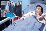 Yeni atanan imam ailesiyle sele kapıldı