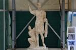 Eşi benzeri olmayan bir heykel bulundu