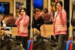 Buse Varol minik bebeğiyle İtalya'ya gidiyor