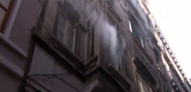 Beyoğlu'nda yangın faciasında şok eden detay