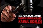 Gezi Parkı eylemlerine ilişkin hazırlanan iddianame kabul edildi