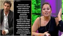 Popstar Aydan Kaya, M. Akif Alakurt'a saydırdı!