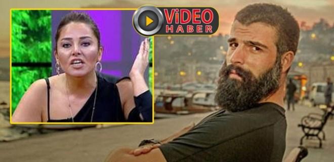 Popstar Aydan Kaya, Mehmet Akif Alakurt'a saydırdı!