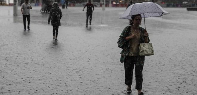 Meteoroloji'den sağanak yağış uyarısı!..