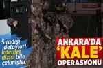 Ankara'da hava destekli narkotik operasyonu