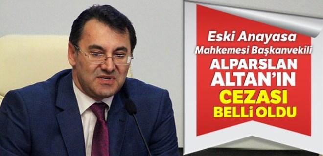 Alparslan Altan hakkında karar çıktı