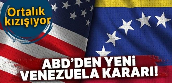 ABD'den yeni Venezuela kararı
