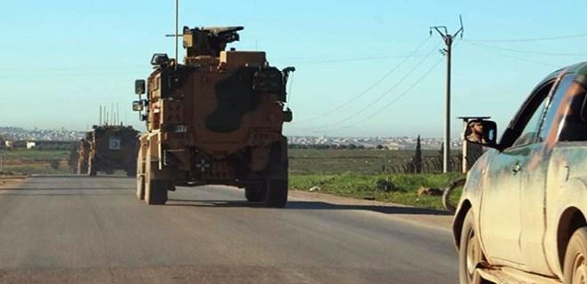 TSK ilk defa İdlib'de devriye geziyor