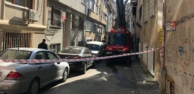 Kadıköy'de büyük yangın paniği!