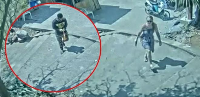 Takip ettiği turist kadına tecavüz edip öldürdü!