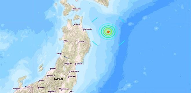 Japonya açıklarında şiddetli deprem