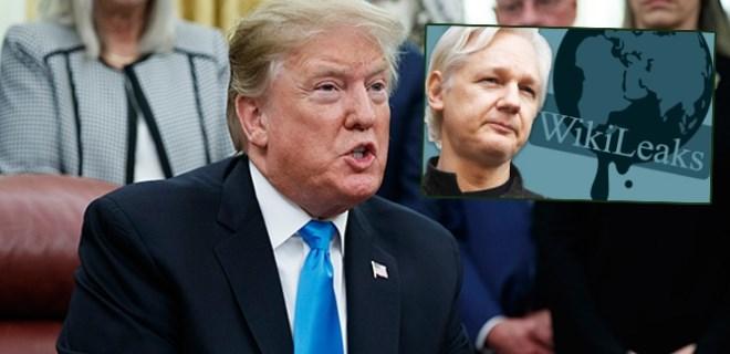 Donald Trump'tan flaş WikiLeaks açıklaması