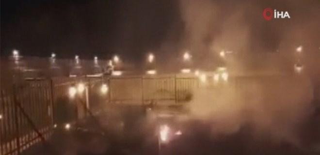 Mescid-i Aksa'da büyük yangın!
