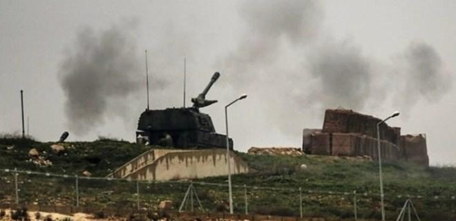 MSB duyurdu! YPG Afrin'e saldırdı!