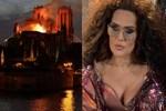 Demet Akalın'dan 'Notre Dame yangını' tepkisi
