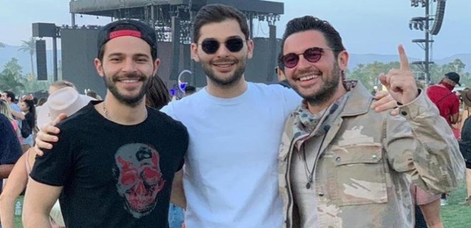 Sabancı kardeşlerin Coachella neşesi