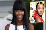 Naomi Campbell kariyerinin 33. yılını kutladı