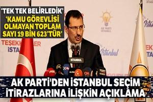 AK Parti Genel Başkan Yardımcısı Ali İhsan Yavuz'dan açıklama