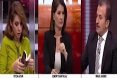 Haber Global canlı yayınında sert tartışma!
