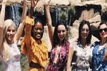 Tara De Vries güzellik kraliçeleriyle tatilde