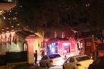 Boğaz manzaralı villada korkutan yangın