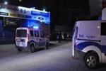 Benzin istasyonunda pompalı tüfekle saldırı