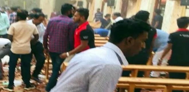 Sri Lanka'da eş zamanlı saldırı